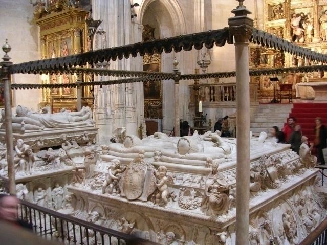 Het graf van de katholieke koningen in Granada