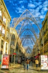 Malaga kerstverlichting 2014