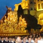 trono Malaga Semana santa