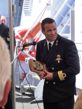 De Nederlandse marine op bezoek