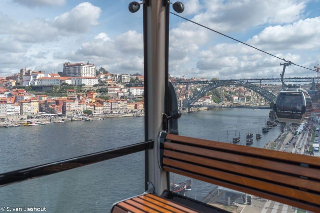 cable car Douro Ribeira