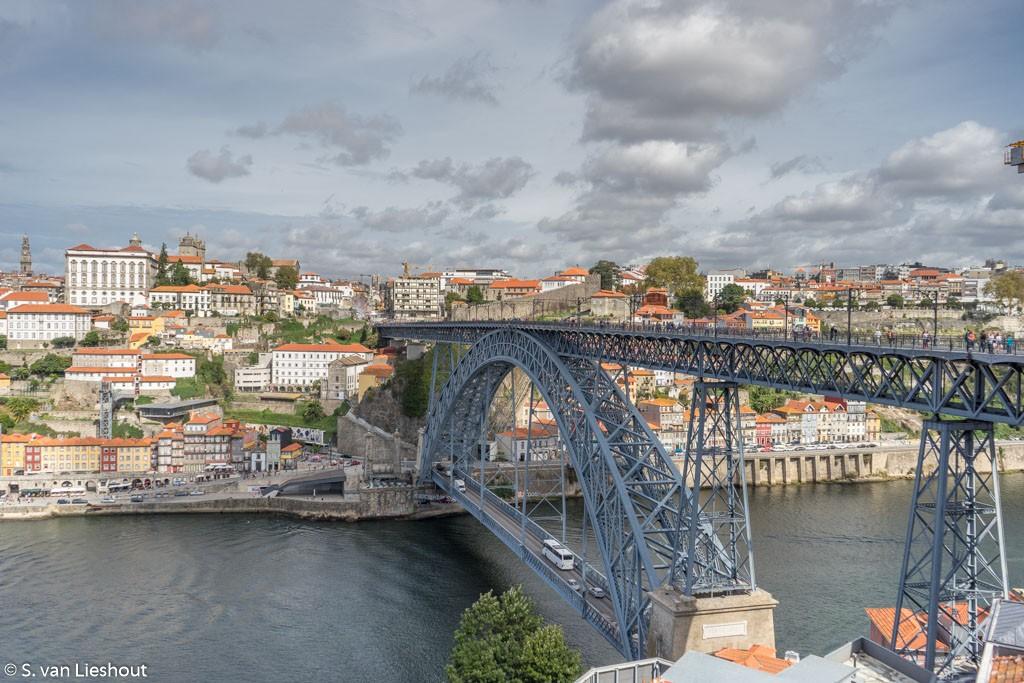 Porto brug over de Douro