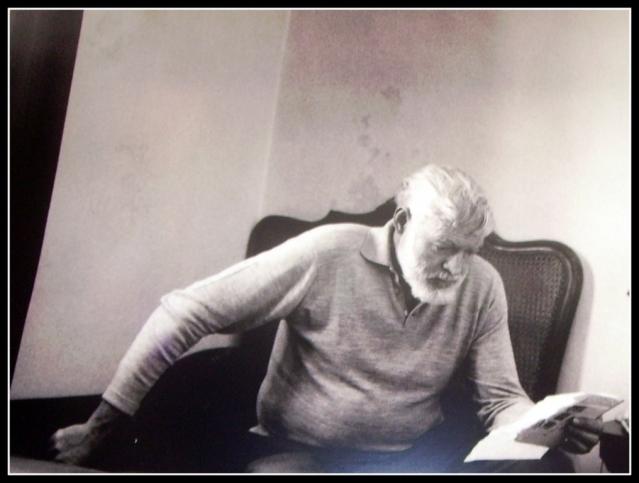 Bij La Consula, lunch met Hemingway