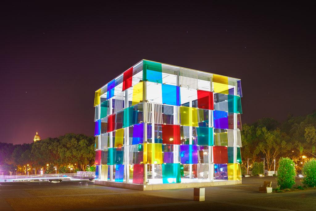 Malaga, Muelle uno, Pompidou
