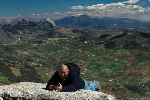 Torcal gebergte in Malaga