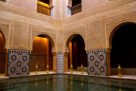 Baños Árabes Al Andalus, een warm bad