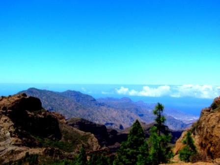 Uitzicht Grand Canaria