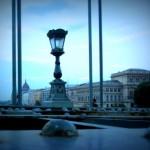 Brug over Donau Boedapest