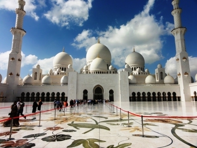 Moskee Abu Dhabi