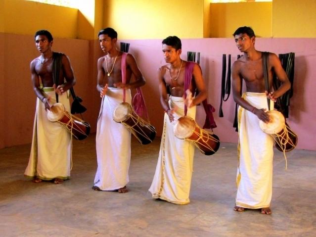 Kerala drummers