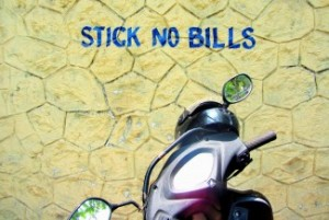 Stick no bills in Kerala