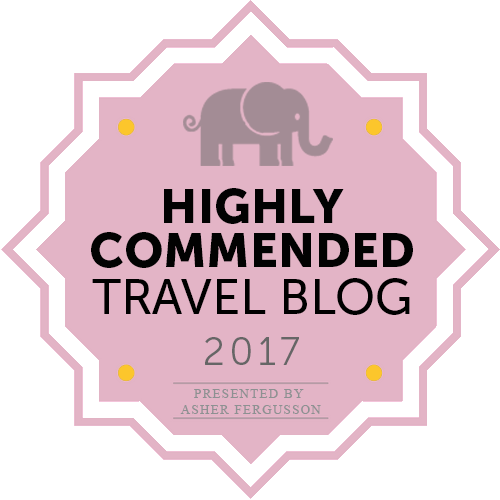 Award winning travel blog