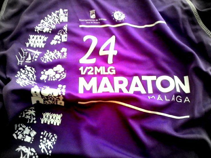 De halve marathon van Malaga