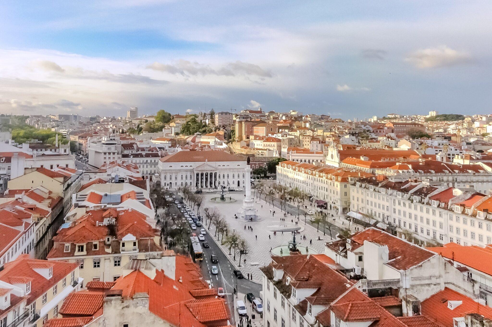 Praça Dom Pedro IV Lissabon