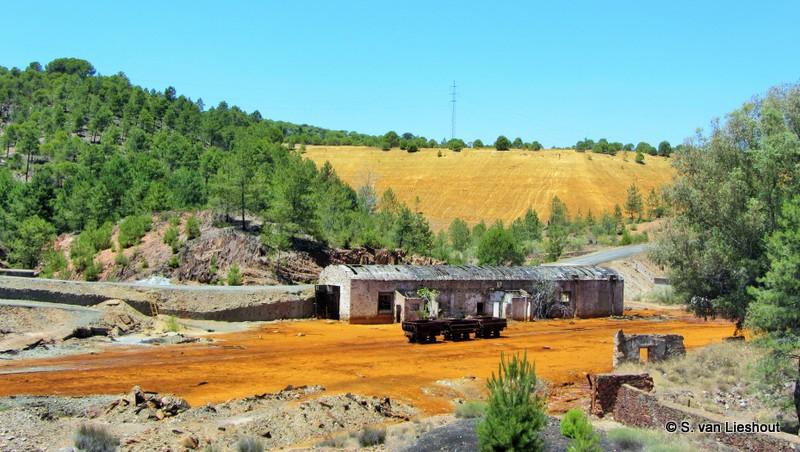 Mijnen van Río Tinto in Huelva
