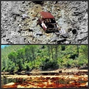 de mijnen van rio Tinto