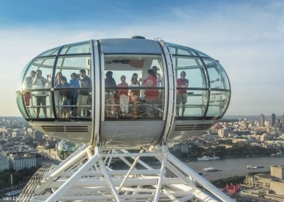 Londen Eye view