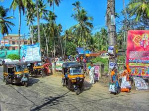 Chaos op de Indiase wegen