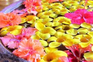 Bloemenversiering