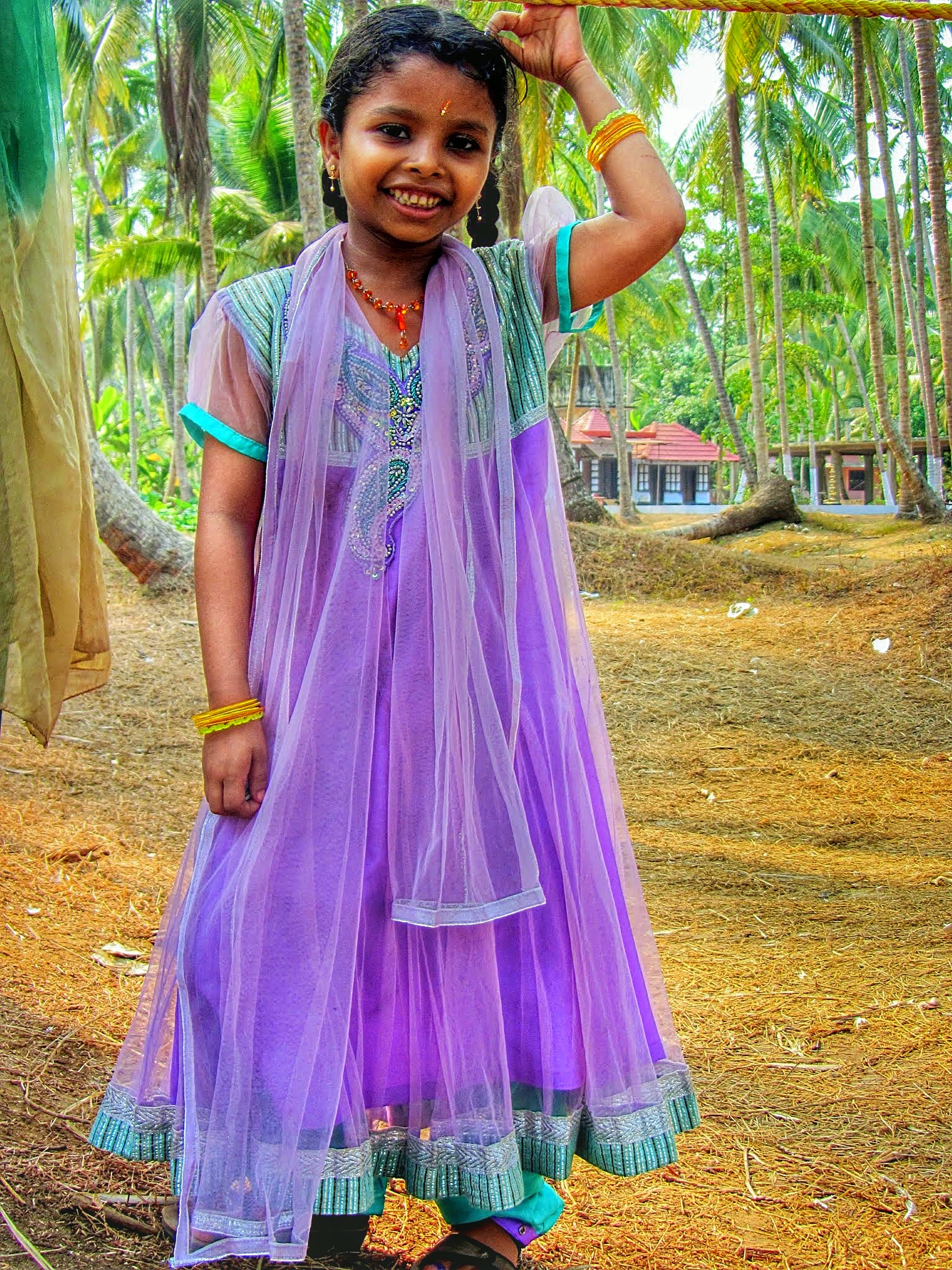 Little girl India