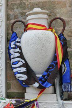 San Michele begraafplaats voetballer