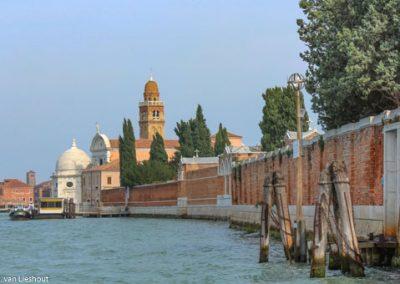 Venetië kerkhof San Michele