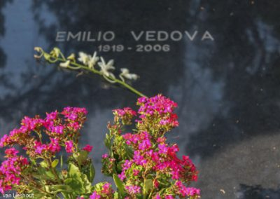 Venetië kerkhof San Michele Emilio Vedova
