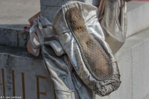 Venetië kerkhof San Michele balletdanser