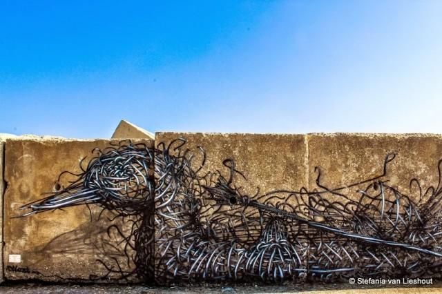 graffiti Adriatische kust Italië