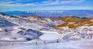 Skien op de Sierra Nevada Spanje