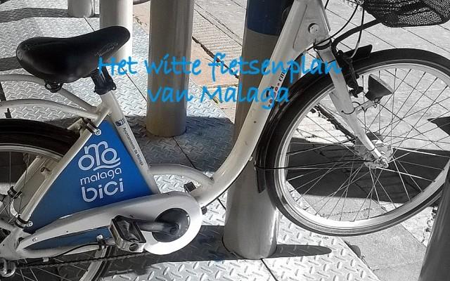witte fiets malaga