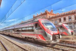 De trein naar Malaga
