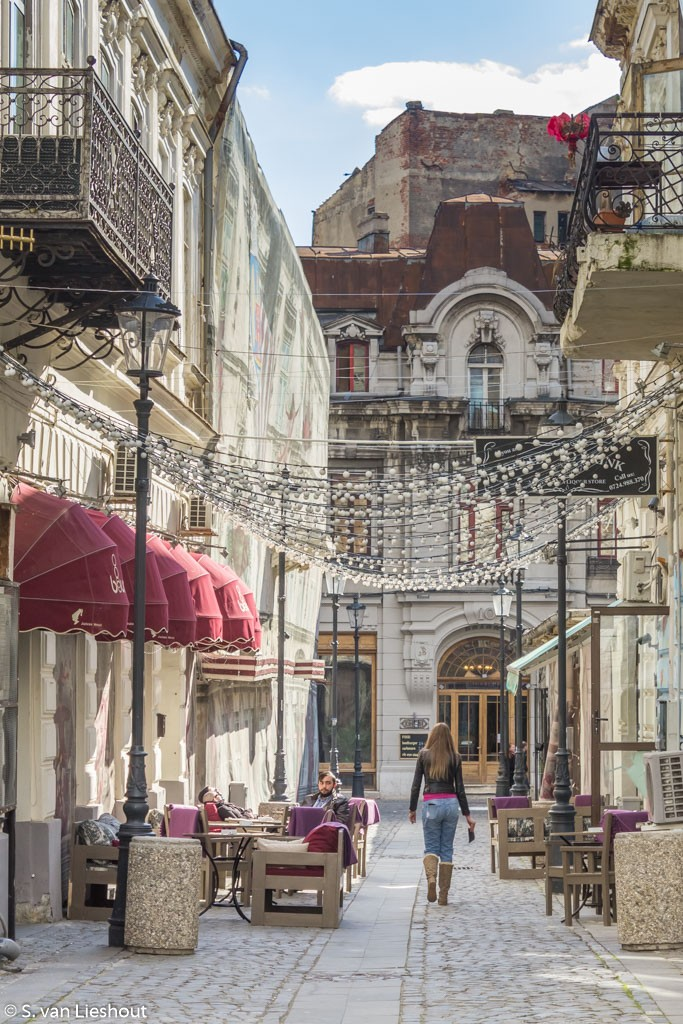 Bucharest historic city centre