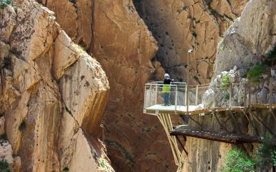 Caminito del Rey, sensationeel ongevaarlijk