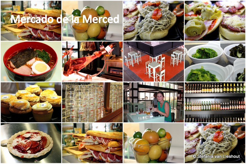 Mercado de la Merced in Malaga
