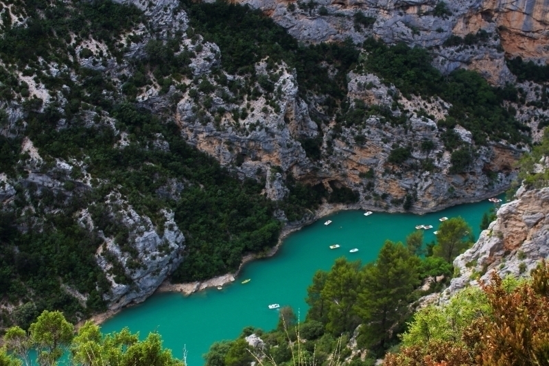De adembenemende Gorges du Verdon in Frankrijk