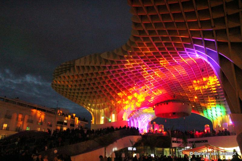 Lightshow Metropol Sevilla