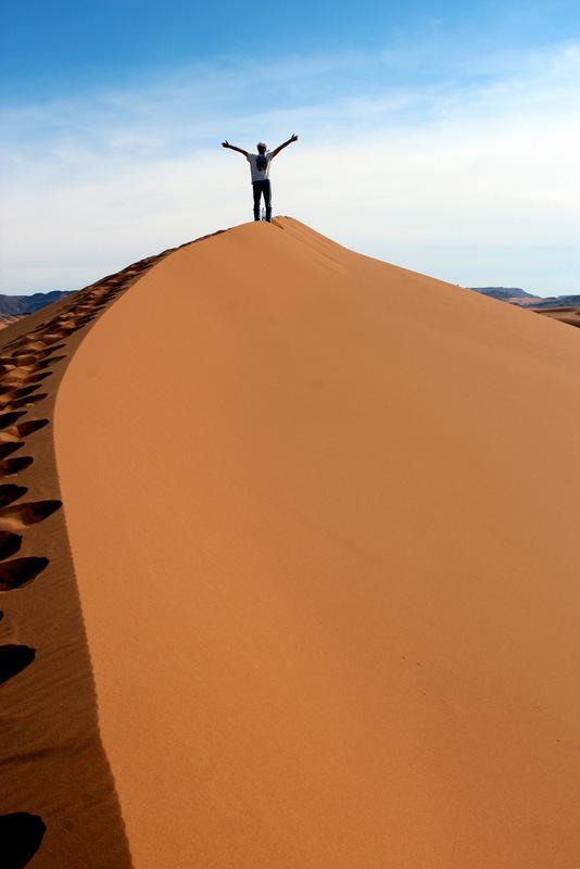 Zandduinen Sahara