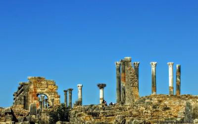 De spectaculaire ruïnes van het Romeinse Rijk