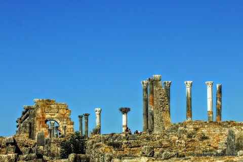 Marokko, Romeinse nederzetting, Volupbilis
