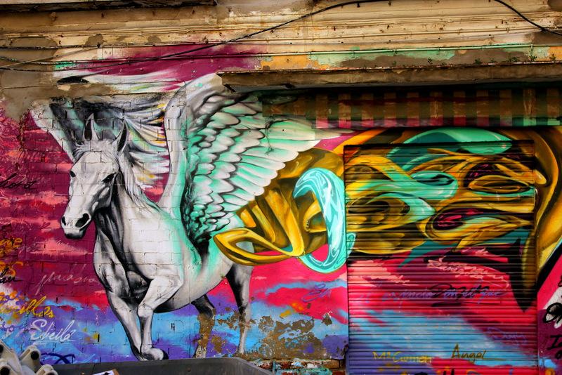De kleurrijkste wijk van Malaga