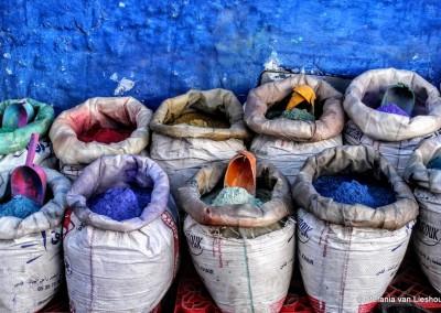 De 50 tinten blauw van Chefchaouen Marokko