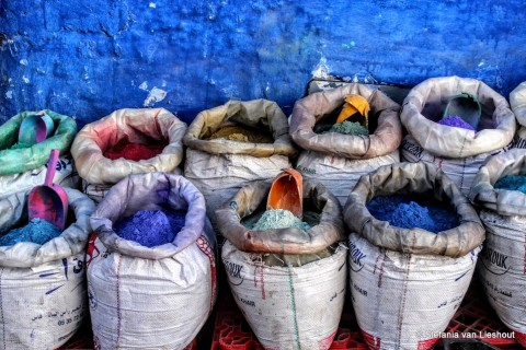 Chefchaouen Marokko blauwe stad