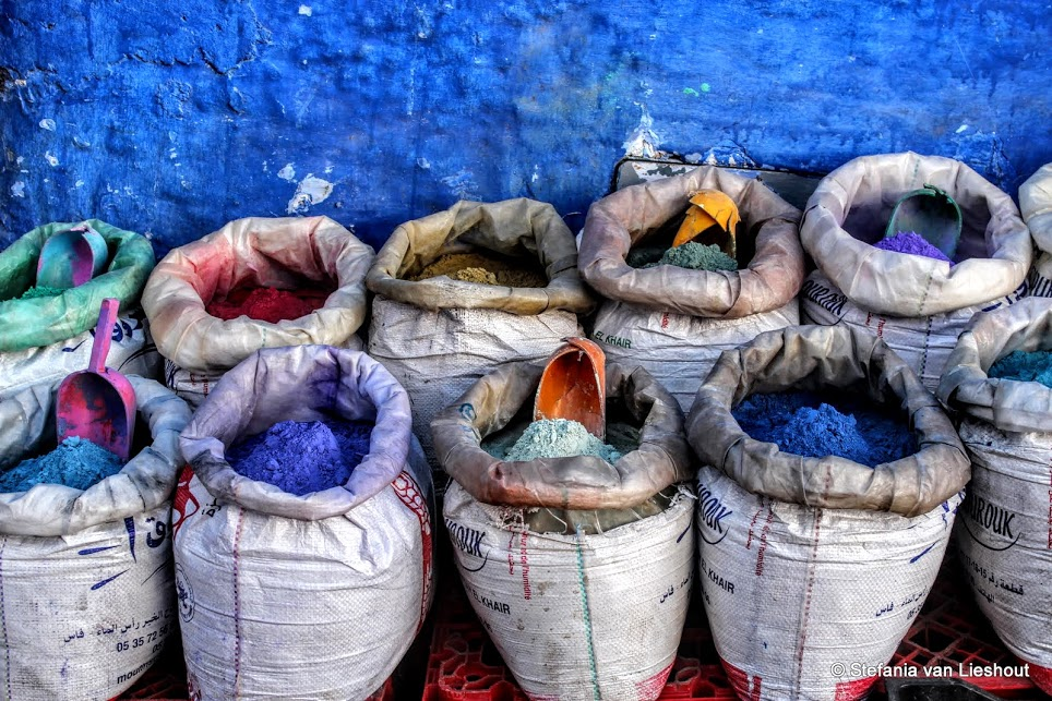 De 50 tinten blauw van Chefchaouen