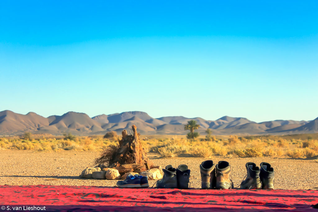 trektocht woestijn