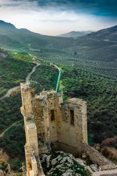 Spanje Zuheros kasteel