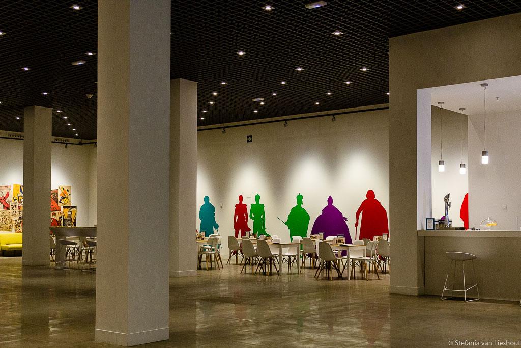 Russische museum Malaga restaurant