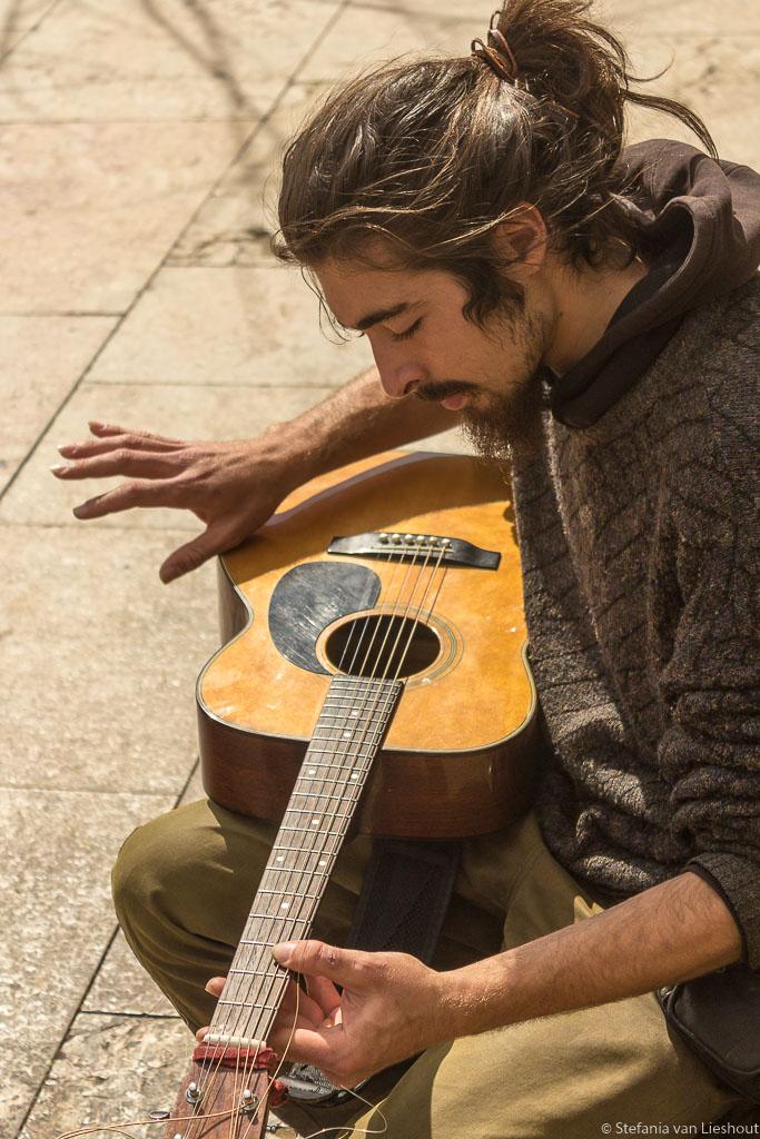 Gitarist Plaza de la Merced