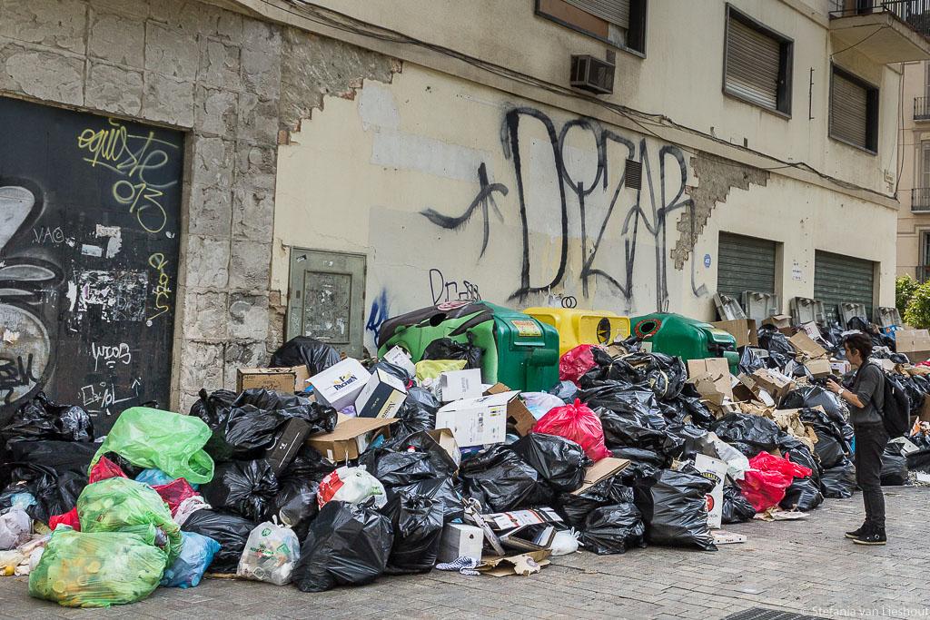 Malaga Staking vuilnis