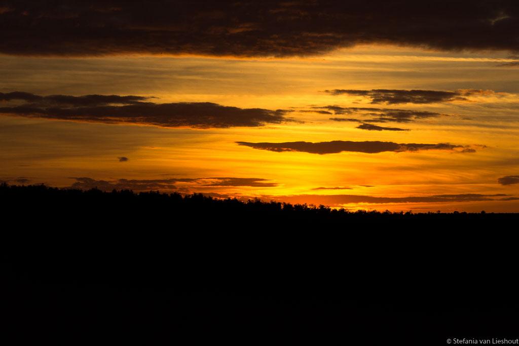 zonsondergang Cordoba